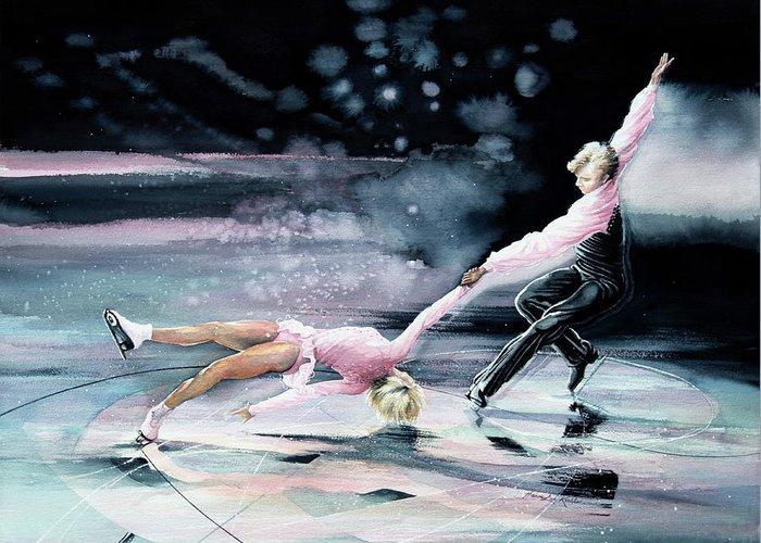 Olympic Figure Skating Stationery