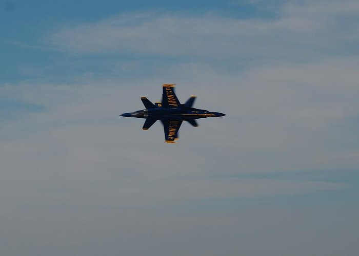 Blue Angels Greeting Card featuring the photograph Perfection by Renee Holder