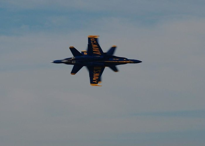 Airshow Greeting Card featuring the photograph Perfection2 by Renee Holder