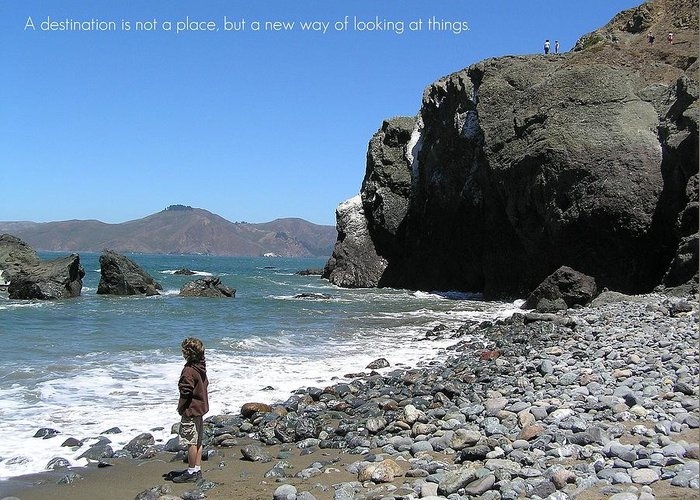 Affirmation Greeting Card featuring the photograph Perspective by Jen White