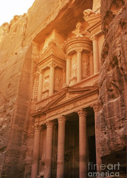 Petra - Jordan Greeting Cards