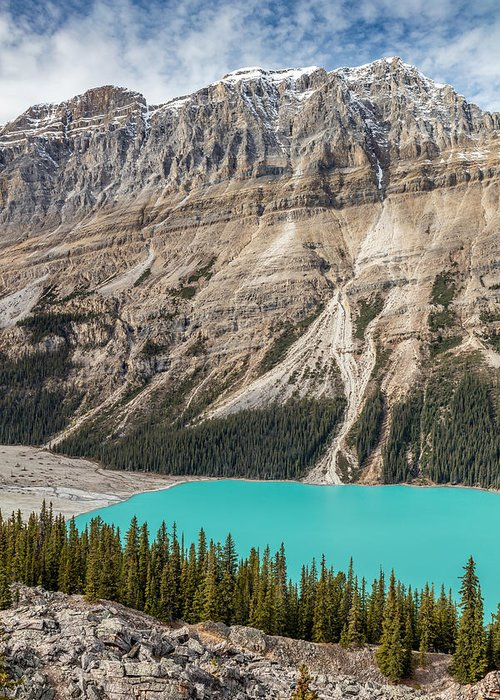 5dsr Greeting Card featuring the photograph Peyto Lake Alberta by Pierre Leclerc Photography