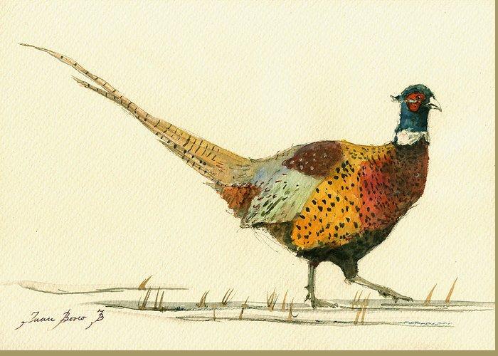 Pheasant Greeting Cards