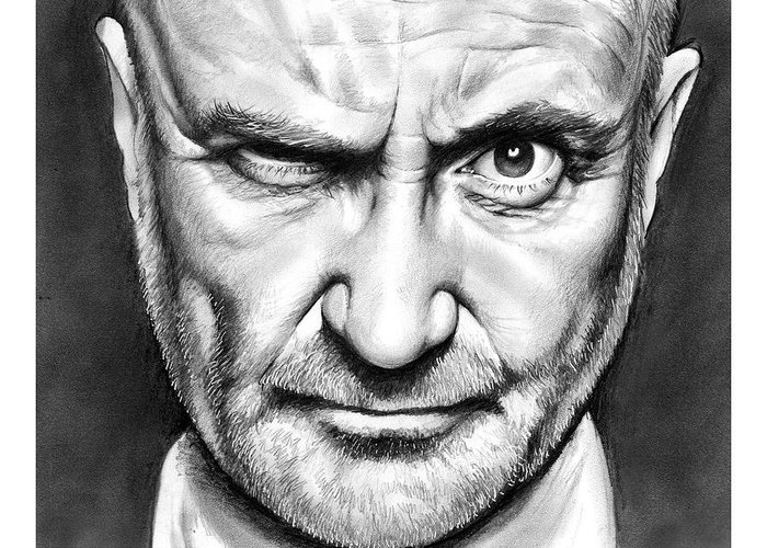 Designs Similar to Phil Collins by Greg Joens