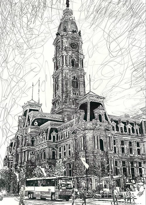 Center City Drawings Greeting Cards