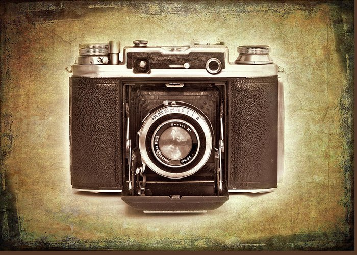 Nostalgia Greeting Card featuring the photograph Photographer's Nostalgia by Meirion Matthias