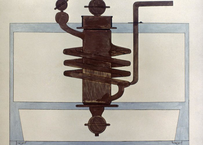 1915 Greeting Card featuring the photograph Picabia: Paroxyme, 1915 by Granger
