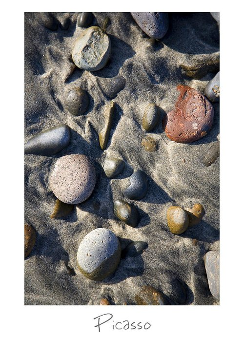 Beach Art Greeting Card featuring the photograph Picasso by Peter Tellone