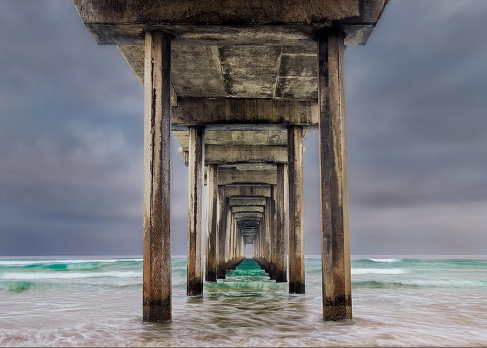 California Greeting Card featuring the photograph Pier by Doug Oglesby