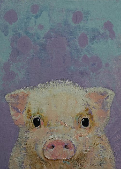 Baby Pigs Greeting Cards