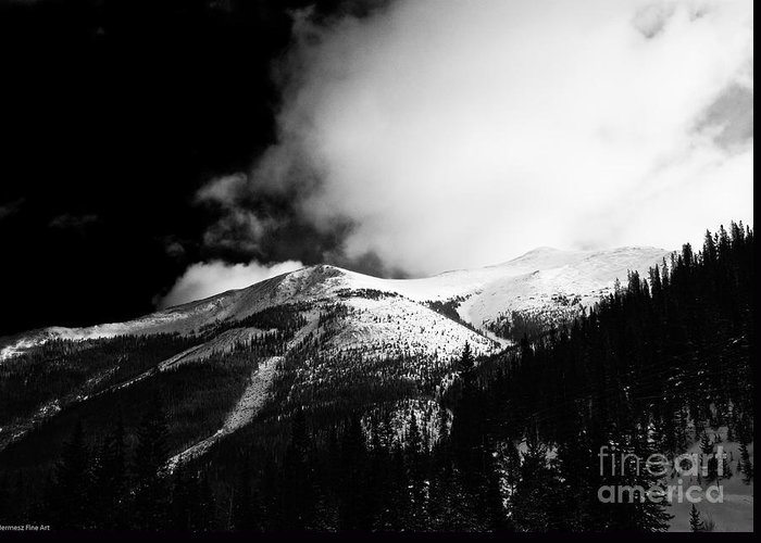 Landscape Greeting Card featuring the photograph Pikes Peak Western Slope by John Hermann