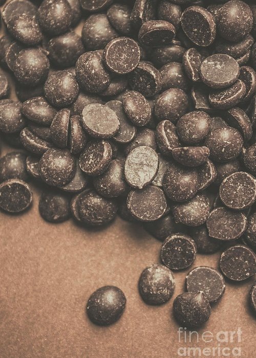 Chocolate Chips Greeting Cards