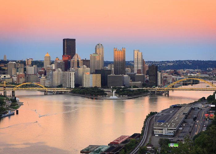 Steelers Greeting Card featuring the photograph Pittsburgh 16 by Emmanuel Panagiotakis