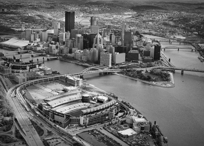 Steelers Greeting Card featuring the photograph Pittsburgh 9 by Emmanuel Panagiotakis