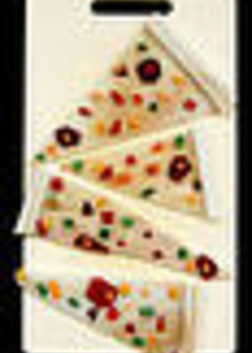 Pizza Greeting Card featuring the glass art Pizza by Diane Morizio
