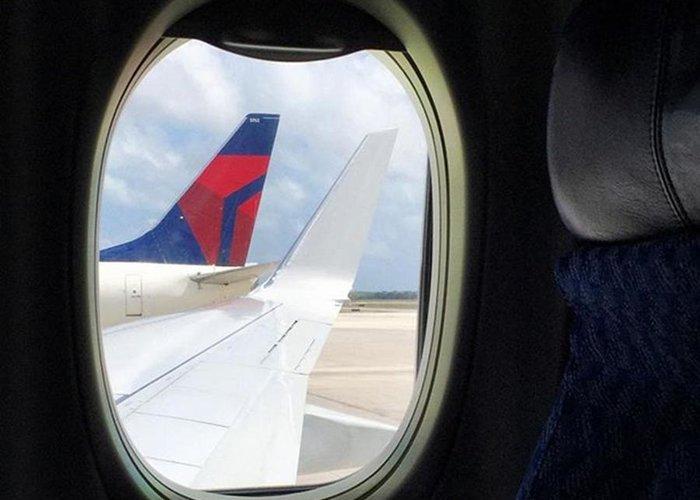 Miamiphotographers Greeting Card featuring the photograph Plane Window #juansilvaphotos by Juan Silva