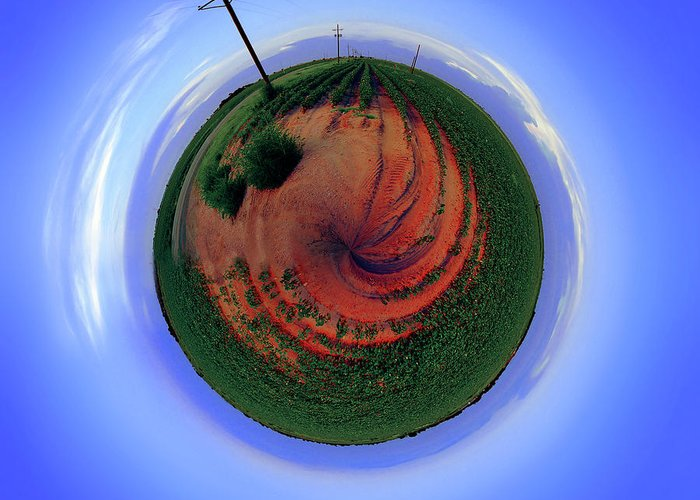 West Texas Greeting Card featuring the photograph Planet West Texas by Robert Hudnall