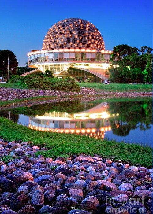 Planetarium Greeting Card featuring the photograph Planetario by Bernardo Galmarini