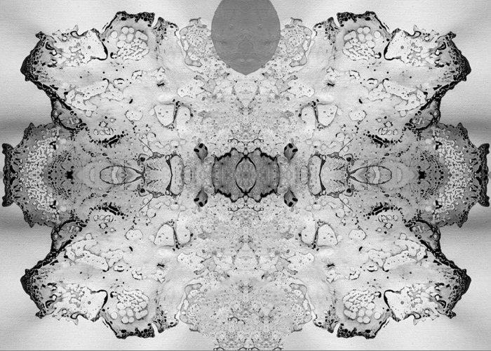 Fluid Greeting Card featuring the digital art Plasma by Sumit Mehndiratta