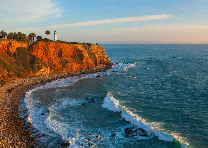 Point Vicente Greeting Cards