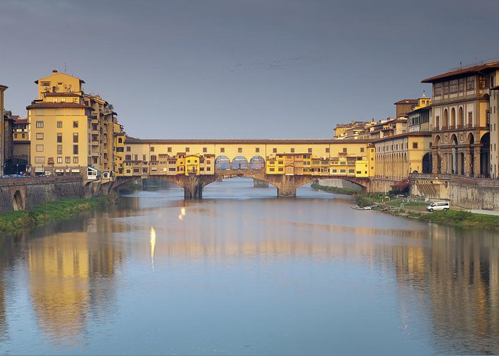 Ponte Greeting Card featuring the photograph Ponte Vecchio by Andre Goncalves