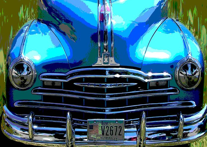 Car Greeting Card featuring the photograph Pontiac by Audrey Venute