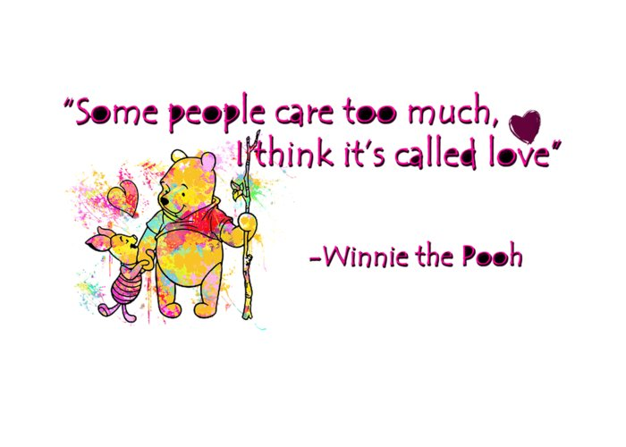 Pooh cute love quotes 1 greeting card for sale by prar kulasekara pooh greeting card featuring the digital art pooh cute love quotes 1 by prar kulasekara m4hsunfo