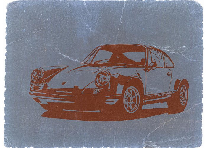 Porsche 911 Greeting Card featuring the photograph Porsche 911 by Naxart Studio