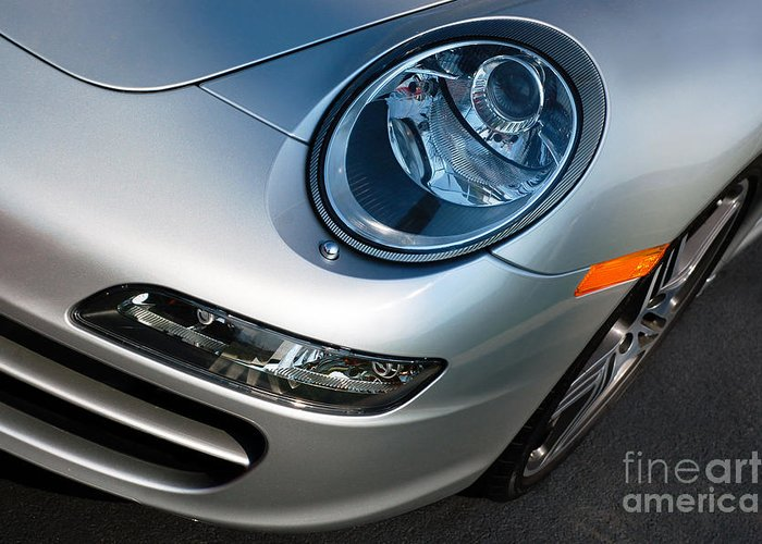 911 Greeting Card featuring the photograph Porsche 911 by Paul Velgos