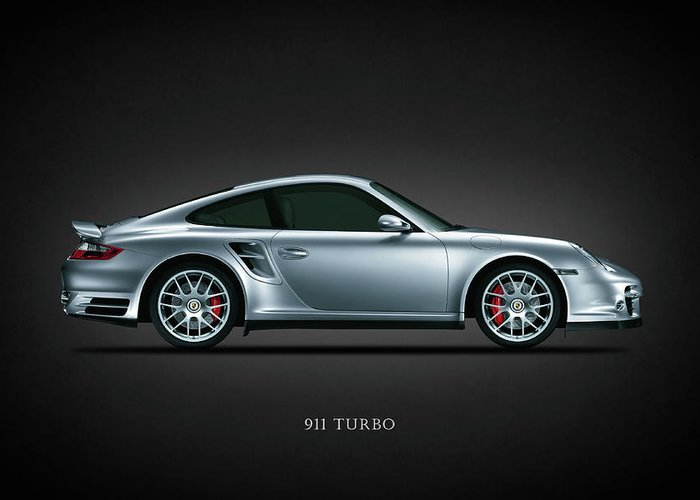 Porsche Greeting Card featuring the photograph The Iconic 911 Turbo by Mark Rogan