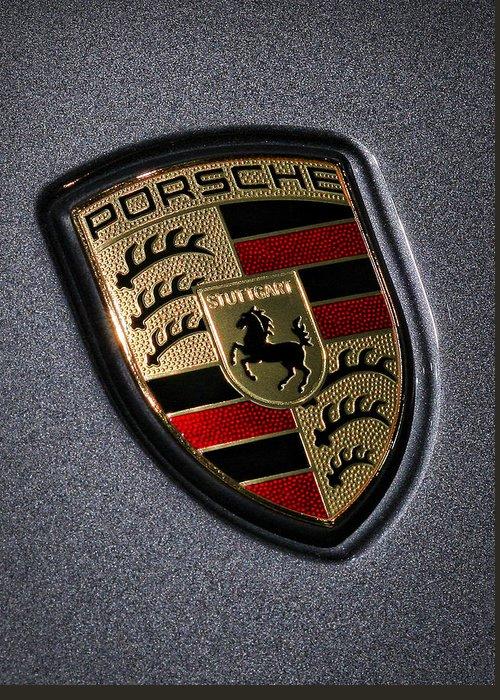 Porsche Greeting Card featuring the photograph Porsche by Gordon Dean II