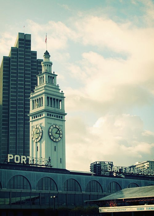 Ferry Building Greeting Cards