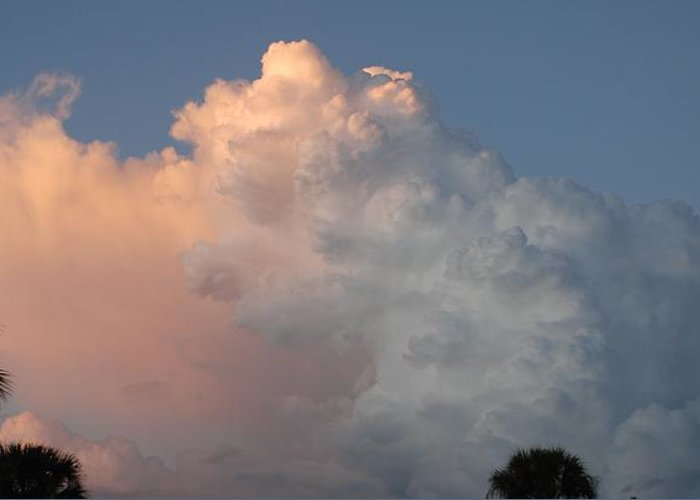 Clouds Greeting Card featuring the photograph Post Card Clouds by Rob Hans