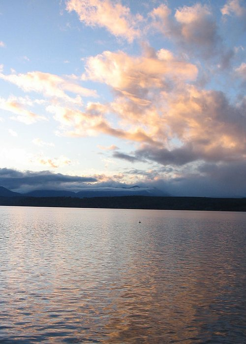 Sunset Greeting Card featuring the photograph Poulsbo Sunset by Ty Nichols