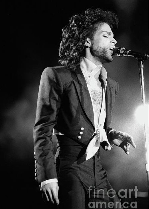 Prince Greeting Card featuring the photograph Prince by Concert Photos