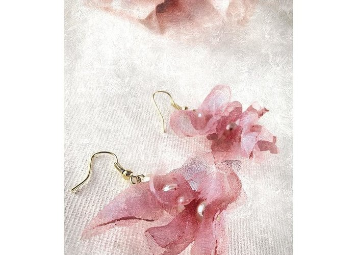 Dangly Earrings Greeting Cards