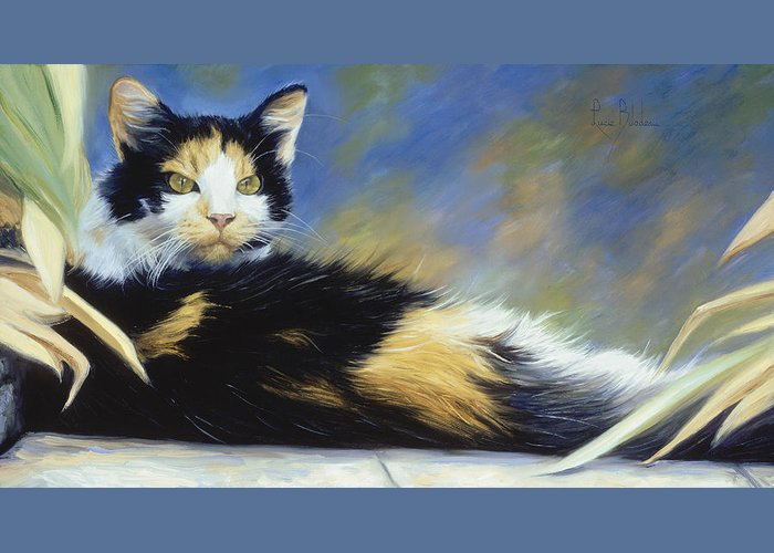 Calico Greeting Cards