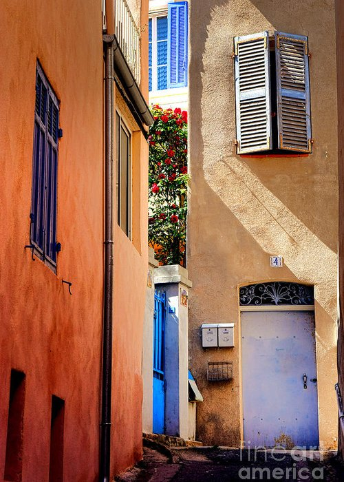 Provence Village Photographs Greeting Cards