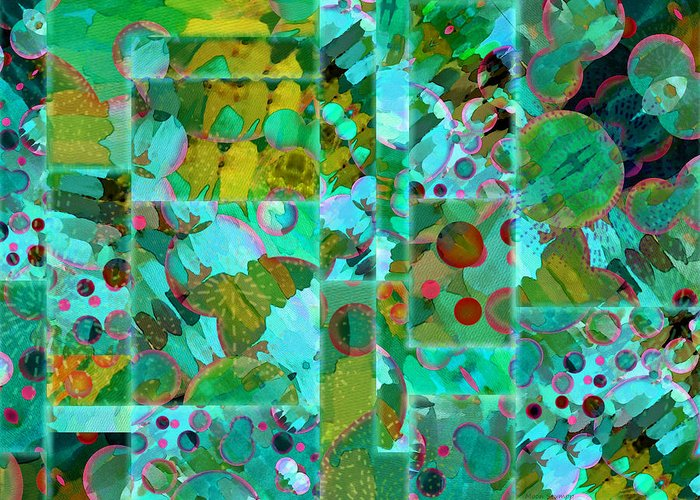 Textural Digital Art Greeting Cards