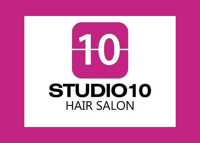 Hair Dresser Boca Raton Greeting Card featuring the sculpture Pure Salon Boca Raton by Brian Adams