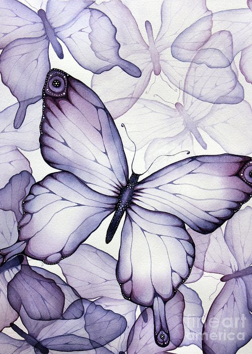 Watercolor Butterflies Greeting Cards