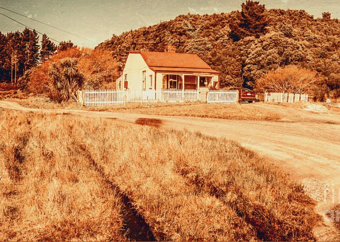 Charming Cottage Photographs Greeting Cards