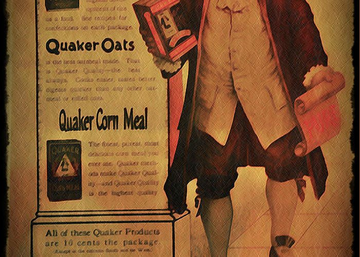 Quaker Greeting Card featuring the photograph Quaker Quality by Bill Cannon