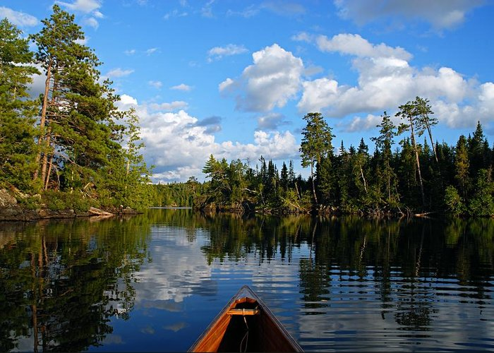 Boundary Waters Greeting Cards