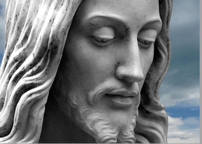 Jesus Greeting Card featuring the photograph Quiet Time by Munir Alawi