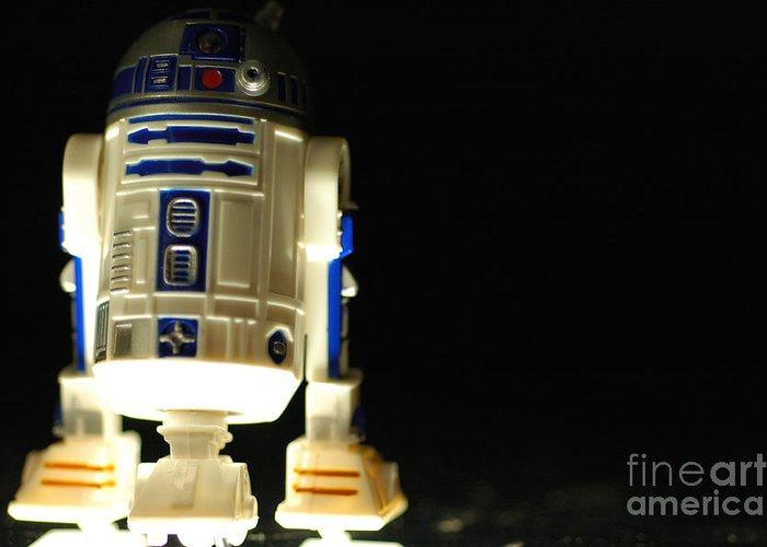 R2dr Greeting Cards
