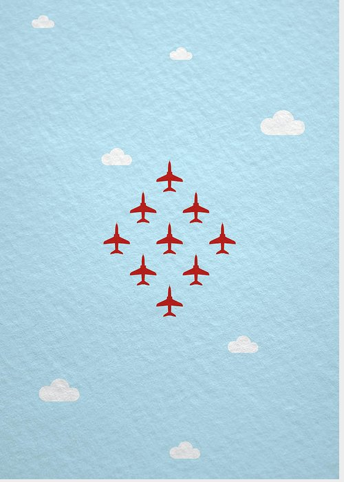 Aviation Display Greeting Cards