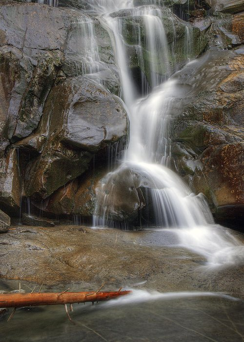 Ramsey Greeting Card featuring the photograph Ramsey Cascades In Great Smoky Mountains National Park Tennesee by Brendan Reals