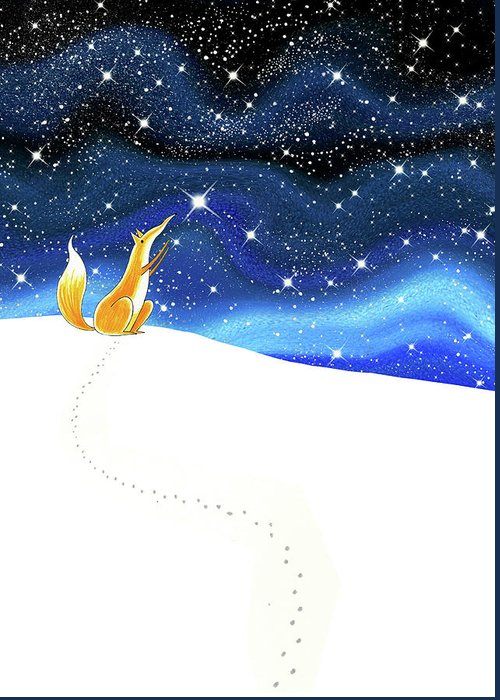 Reach For The Sky Greeting Cards