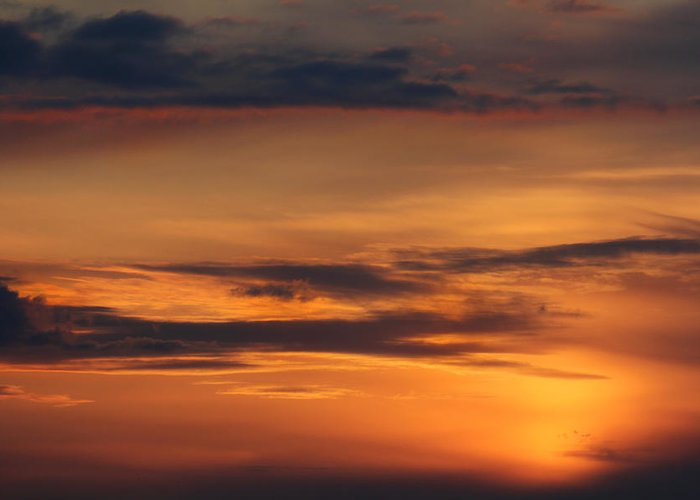 Clouds Greeting Card featuring the photograph Reach For The Sky 10 by Mike McGlothlen